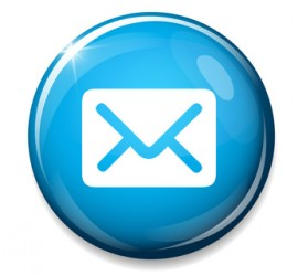 Mail icon. Message sign