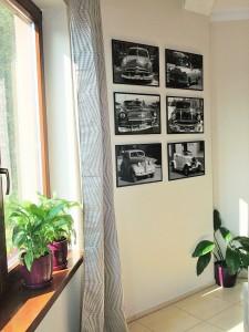 nietypowe zdjęcia na ścianie